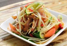 som tam green papaya salad