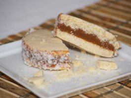 Alfajor (dulce de leche shortbread cookie)