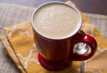 Atole warm masa based beverage