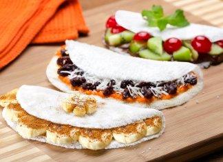 Beiju (Brazilian tapioca pancake)