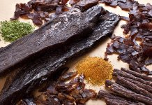Biltong South African dried cured meat