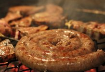 Boerewors South African sausage
