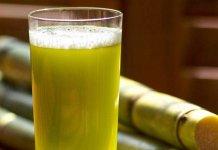 Caldo de Cana (sugar cane juice)