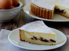 Crostata di Ricotta Roman cheesecake tart