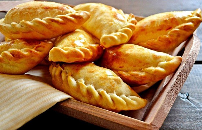 Empanadas stuffed pastries