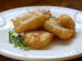 Filetti di Baccala fried salted cod