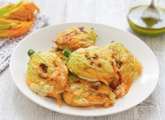 Fiori di Zucca fried zucchini flowers