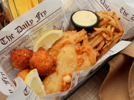 Fish and Chips (national dish of England)