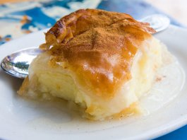 Galaktoboureko Greek Custard Pie
