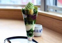 Green Tea Matcha Parfait Japan
