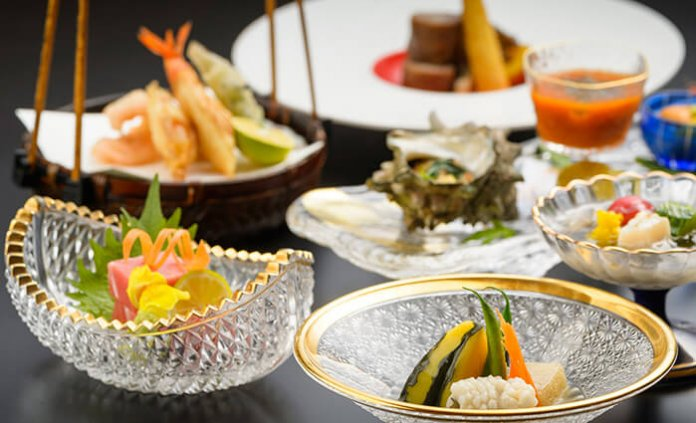 Kaiseki (traditional Japanese multi-course dinner)