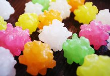 Konpeito rock sugar candy