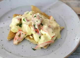 Creamy Lobster Newberg