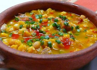 Locro thick corn-based stew