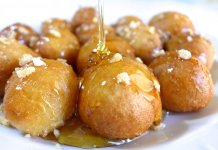 Loukoumades honey doughnuts