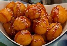 Luqaimat Emirati dumplings