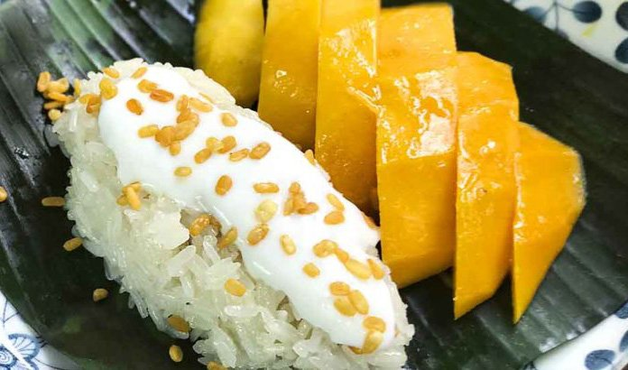Khao Niao Mamuang mango sticky rice