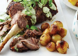 New Zealand Lamb Roast