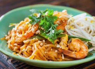 Pad Thai stir-fried noodle dish