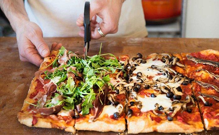 Pizza al Taglio Roman-style pizza