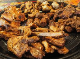 Shisa Nyama BBQ grilled meat