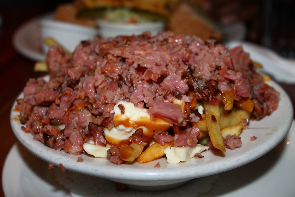Smoked Meat Poutine Montreal