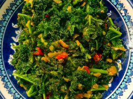 Sukuma wiki collard greens