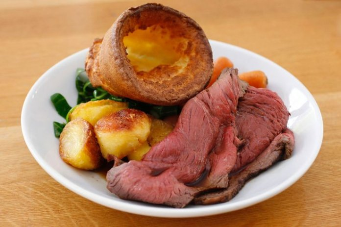 British Sunday Roast