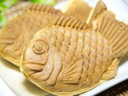 Taiyaki fish-shaped cake