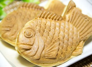 Taiyaki fish-shaped cake