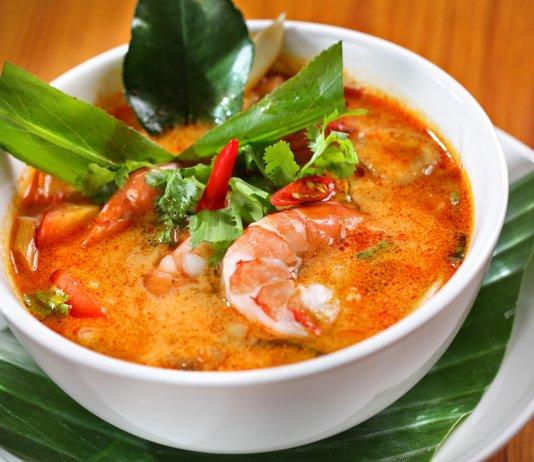 Tom Yum sour Thai soup