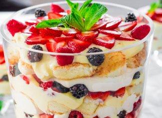 English Trifle dessert