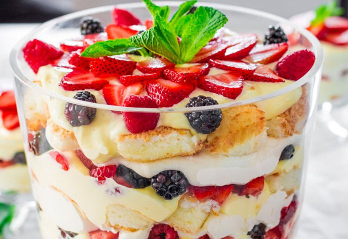 English Trifle dessert