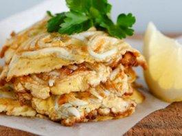 Whitebait Fritters fish omelette